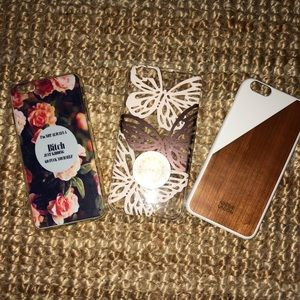 Accessories - Reserved do not buy: iPhone 6 Plus case lot